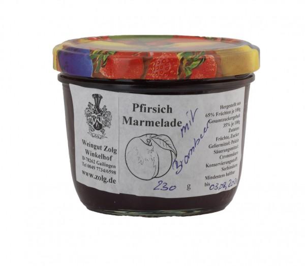 Pfirsich – Brombeer-Marmelade