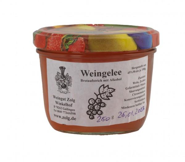 Weingelee rose Weissherbst