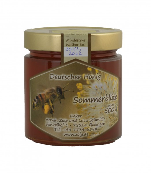 Deutscher Honig Sommerblüte