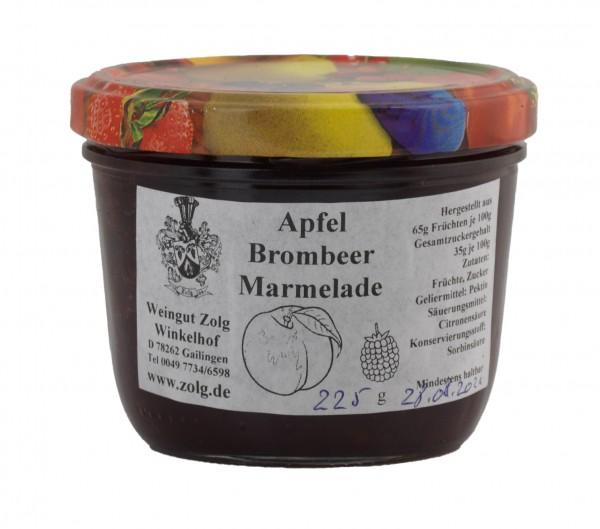 Apfel – Brombeer- Marmelade